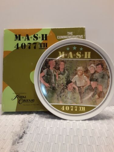MASH 4077 TH The Commemorative Plate by Royal Orleans