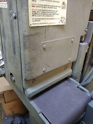 Timesaver 12 Belt Sander 948 Comes With Torit Dust Collection System