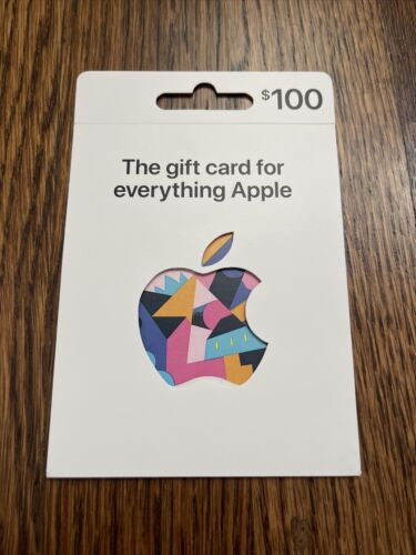 Apple 100.00 App Store ITunes Gift Card PHYSICAL CARD / NO EMAIL / USPS ONLY - $119.99