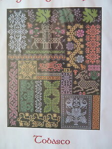 10% Off Long Dog Samplers Counted X-stitch chart - Tobasco | eBay: http://www.ebay.com/itm/like/361497517950