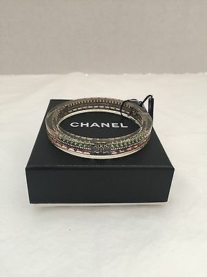 New Chanel 10P Plastic Bracelet