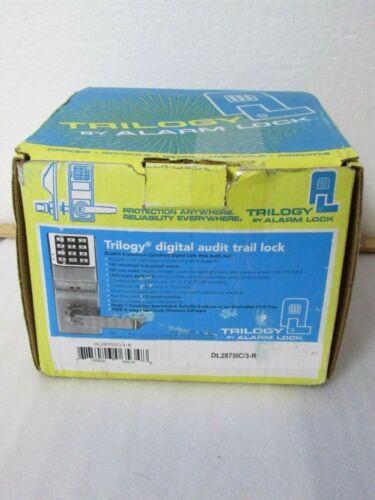 (AS-IS) Alarm Lock Trilogy DL2875IC/3-R Audit Trail Security Lock [CTOKT]