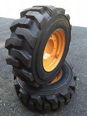2 New 12-16.5 Tireswheelsrim For 4x4 Case 580 Backhoe-super M L 4wd-119243a1