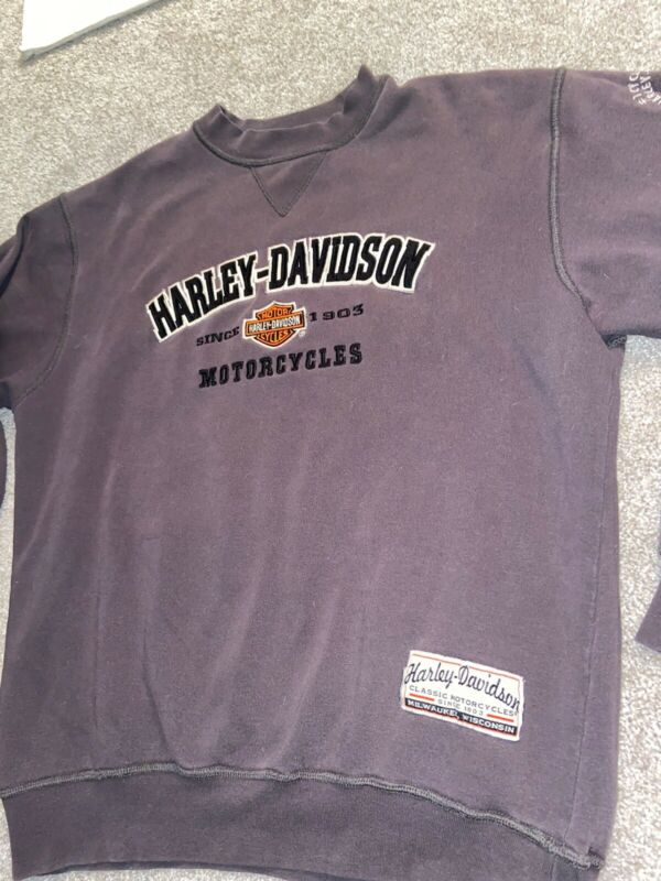Harley Davidson Motorcycles Vintage Sweatshirt