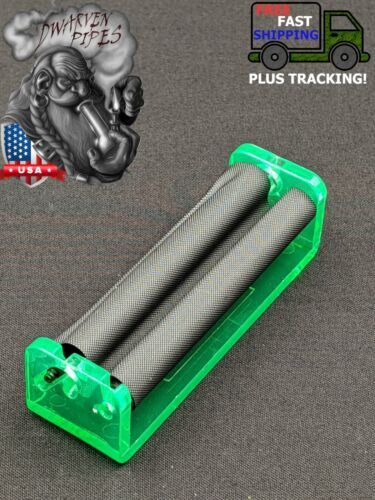 78mm Rolling Machine Roll Your Own Cigarette Paper Hand Roller Green
