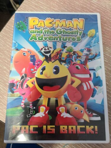 Pac - Man And The Ghostly Adventures Pac Is Back DVD Brand New Factory Sealed - $9.90