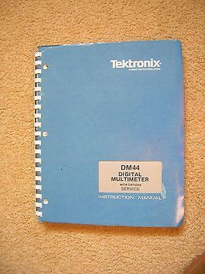 Tektronix Dm44 Digital Multimeter Service And Instruction Manual