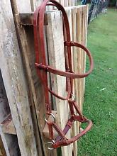 Near New Side Pull Bridle, brown, full size Woodford Moreton Area Preview