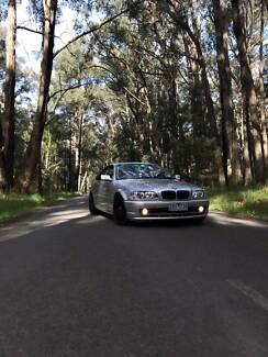 2001 BMW E46 325CI 5SPD MANUAL