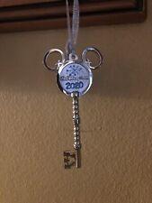 Walt Disney World Silver Key Christmas Ornament 2020 ...