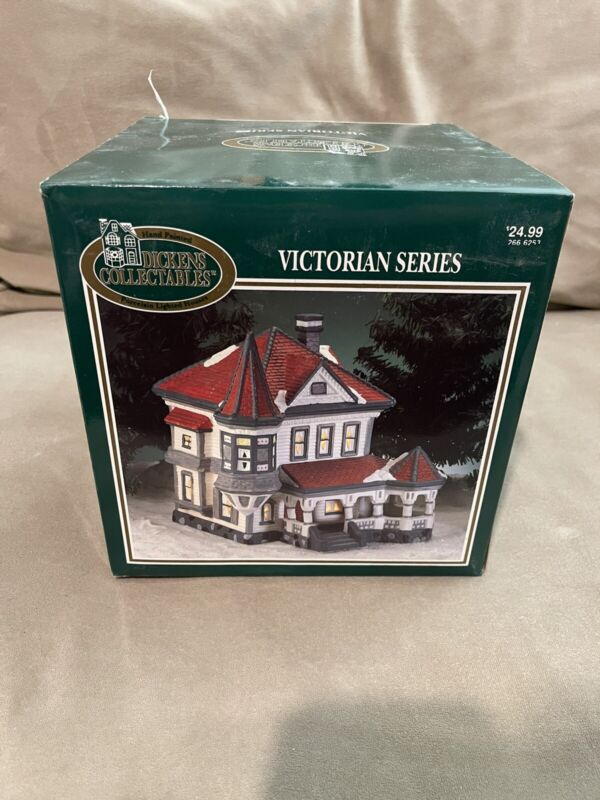 dickens Collectibles village victorian Series House With Box