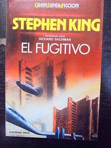 Col-Gran-Super-Ficcion-El-Fugitivo-Stephen-King-Ed-MR-1986