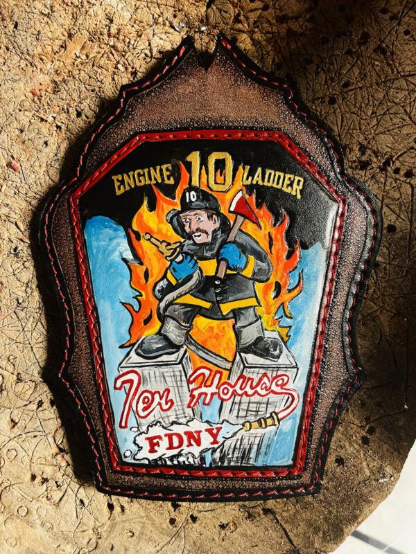 FDNY Custom fire helmet shield