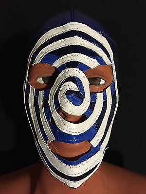 - SICODELICO/PSYCHEDELIC! WRESTLING-LUCHADOR MASK! AWESOME DESIGN! RARE! HANDMADE!
