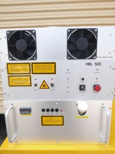 IB-LASER AG MBL 500 F.O. LASER 5J 300us - 20ms + COOLING UNIT + POWER SUPPLY