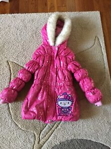 6x Hello Kitty winter coat