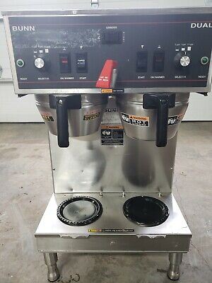 Bunn Dual Automatic Coffee Brewer Maker Machine W Faucet W 3 Batch Settings