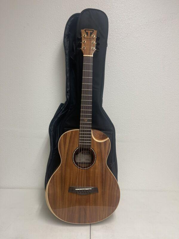 Traveler Guitar Redlands Concert 4 String Acoustic-Electric Bass Guitar KOA