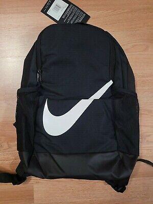 Brand New With Tags Nike Brasilia Kids Backpack Black/White