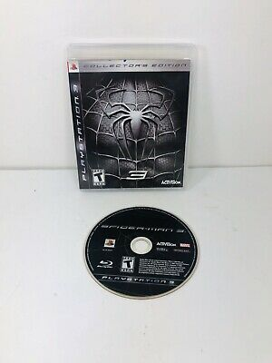 Spider-Man 3 Collector's Edition (Sony PlayStation 3, 2007) PS3 Free Shipping
