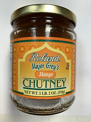Roland Products Chutney - Mango - Major Grey - Indian Asian Condiment ()