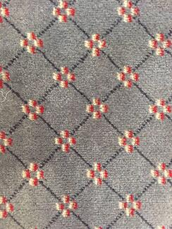 Axminster wool carpet