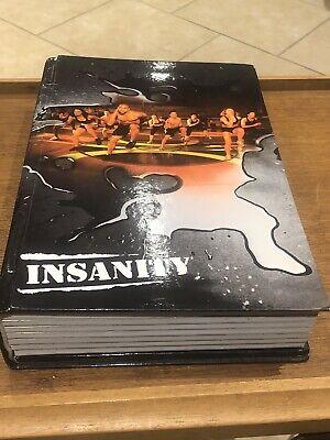 Insanity Total Body Workout Program Beachbody 13 Disc DVD Set