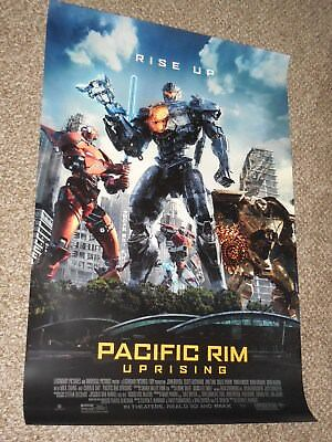 "Used, Pacific Rim Uprising ""C"" 27x40 Original D/S Movie POSTER for sale  Bethel"