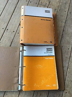 Case 580ck Loader Backhoe Tractor Service Manual Parts Catalog