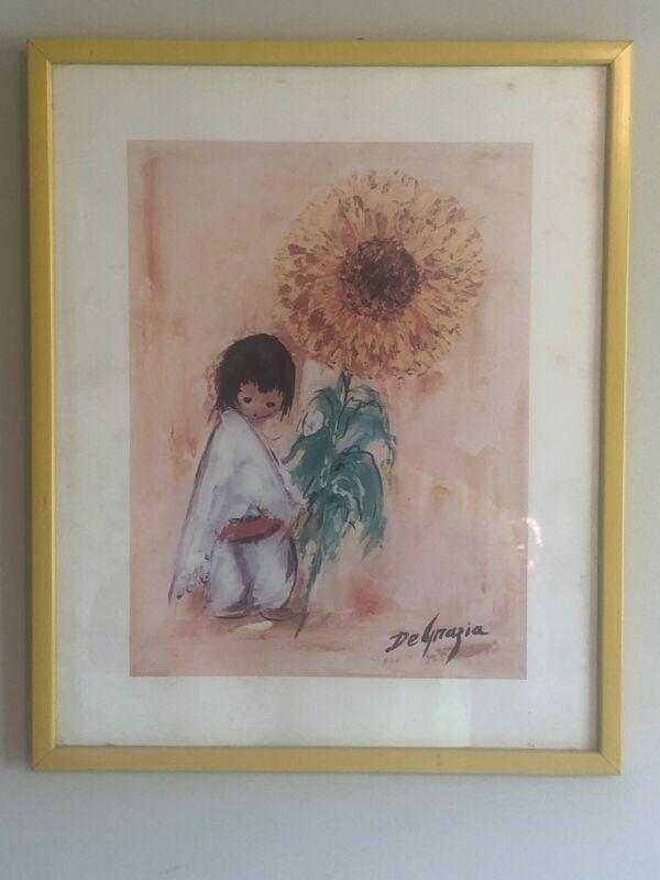degrazia Sunflower Print