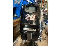 Suzuki DF20 20 hp 4-Stroke Outboard Boat