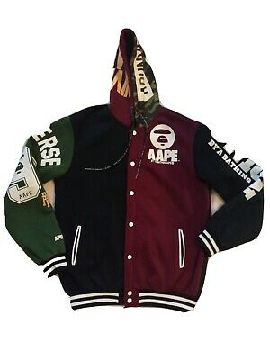 AAPE By A Bathing Ape Hoodie  Jacket 93 Universe XL