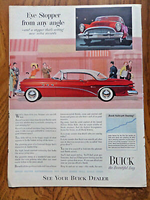 1954 Buick Super Coupe Ad Eye Stopper from Any Angle