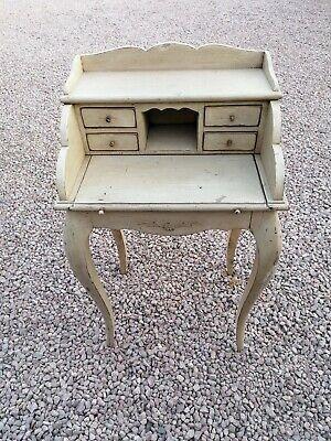 Shabby Chic Writing Desk Bureau Antique Vintage French Style Furniture