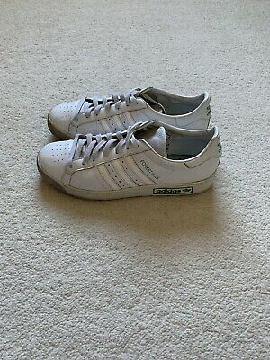Adidas White & Green Forest Hills Soze UK 9