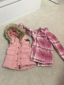 Coates, vests, snow suits size 4
