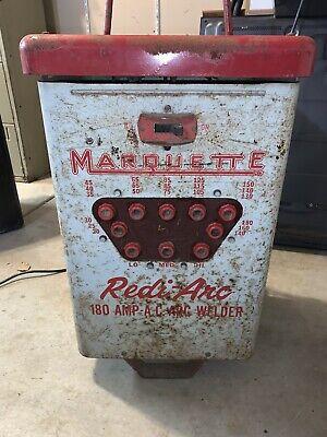 Vintage Marquette Arc Welder