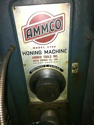 Used Ammco Honing Machine Model 2700 Industrial Hd Wbase
