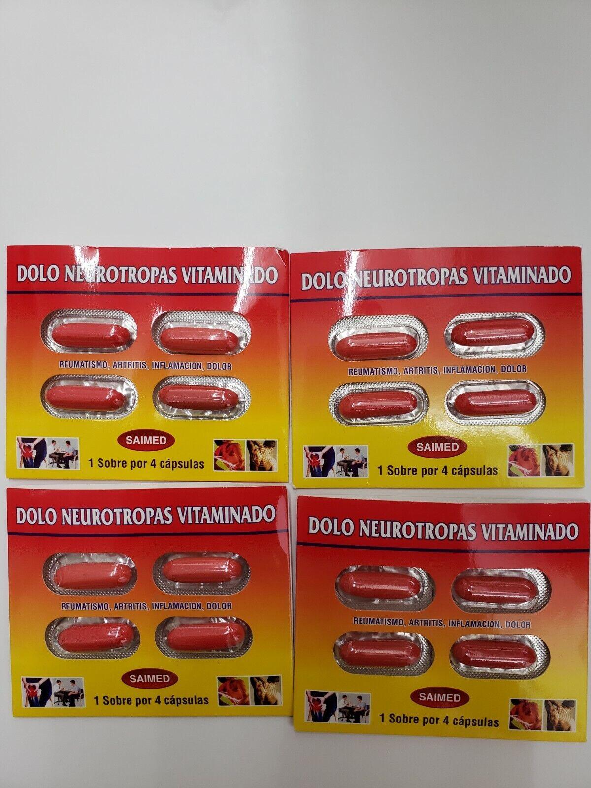 Dolo Neurotropas Vitaminado 4x4 16 capsulas
