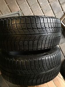 225/45R27 Michelin Xice winter tires set of two