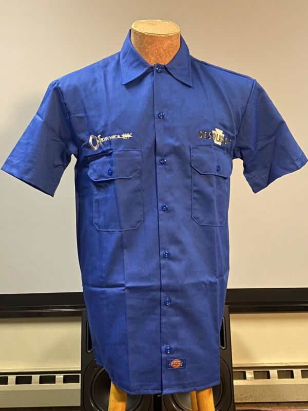 Charvel Officially Licensed Dickies Work Gas Station Shirt NEW- FREE SHIPPING