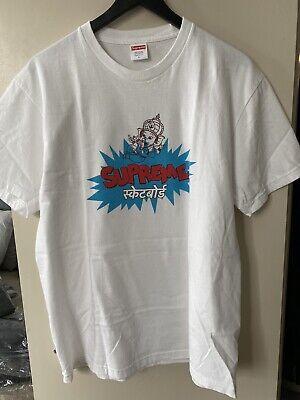 Supreme - Ganesha Tee White T-Shirt Size L Large SS18