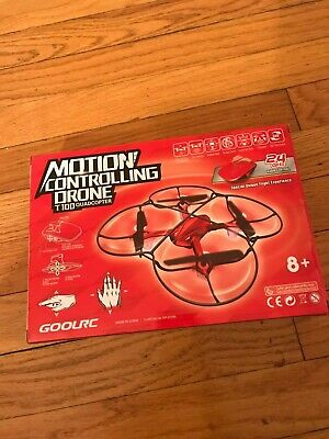 GoolRC T100 Mini Drone RC Quadcopter with Indicate Control 3D Flips One-Key...