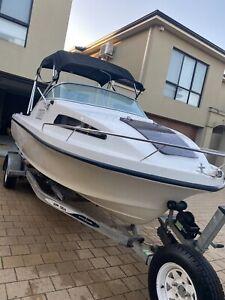 Quicksilver 520 cabin boat