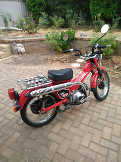 Honda CT110 Postie Bike