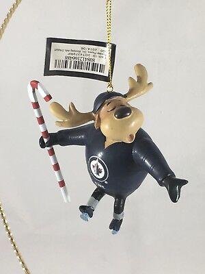 Winnipeg Jets Team Reindeer Hockey Ornament  NHL Team Sports (Winnipeg Usa)