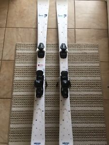 Women's Salomon Skis with brand new bindings