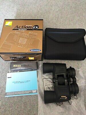 Nikon Action EX 8X40 CF Waterproof Binoculars