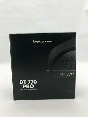 Beyerdynamic DT 770 Pro Headphones: Black | 80 Ohms (AB131)