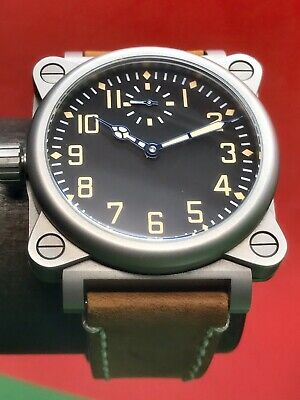 TNT Torsten Nagengast Timeline I16 Aviator One Military Swiss Automatic 44mm
